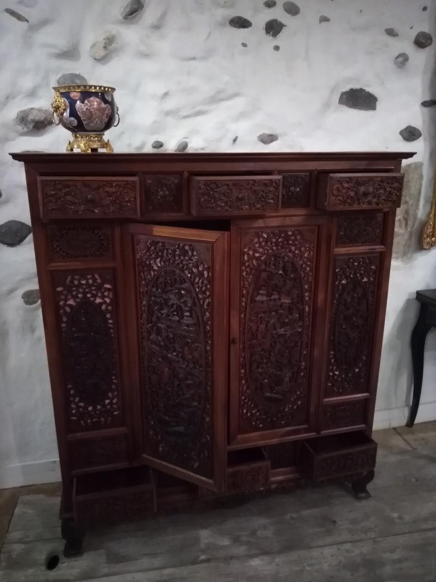 Meuble Cabinet Buffet Indochine