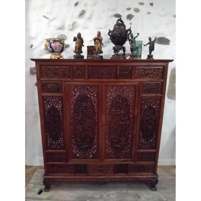 Meuble Cabinet Buffet Indochine