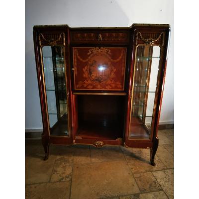Antique Furniture Vitrine Louis XVI