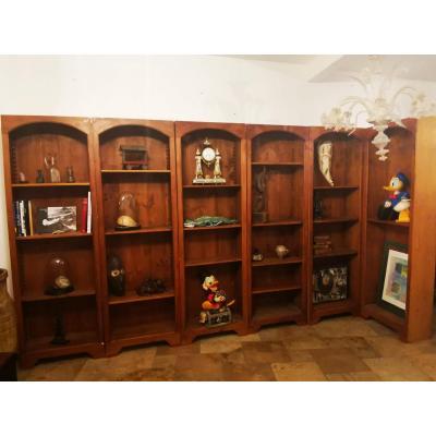 Modular Bookcase Sapin 6 Elements