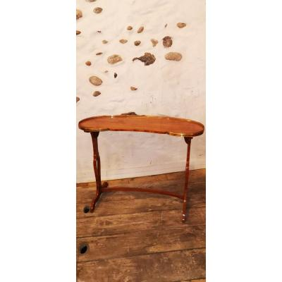 Table Rognon En Placage De Bois De Rose XVIII