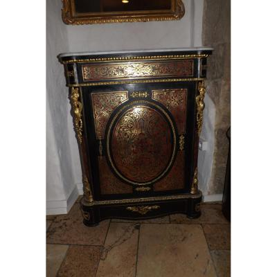 meuble d 39 appui marqueterie boulle napol on iii autres meubles. Black Bedroom Furniture Sets. Home Design Ideas