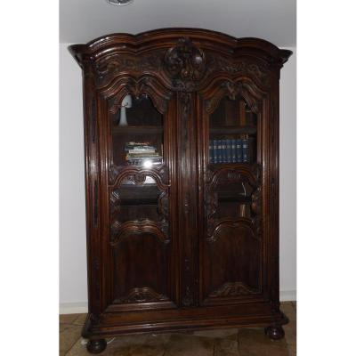 armoire ancienne sur proantic louis xiv r gence. Black Bedroom Furniture Sets. Home Design Ideas