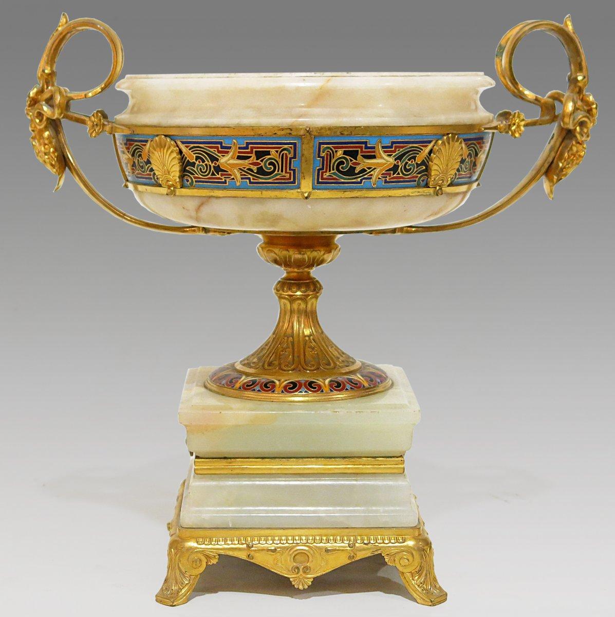 Coupe De Style Néo-grec De Ferdinand Barbedienne (1810-1892) & Louis-constant Sévin (1821-1888)