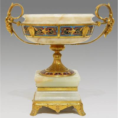 Neo-greek Style Cup By Ferdinand Barbedienne (1810-1892) And Louis-constant Sévin (1821-1888)