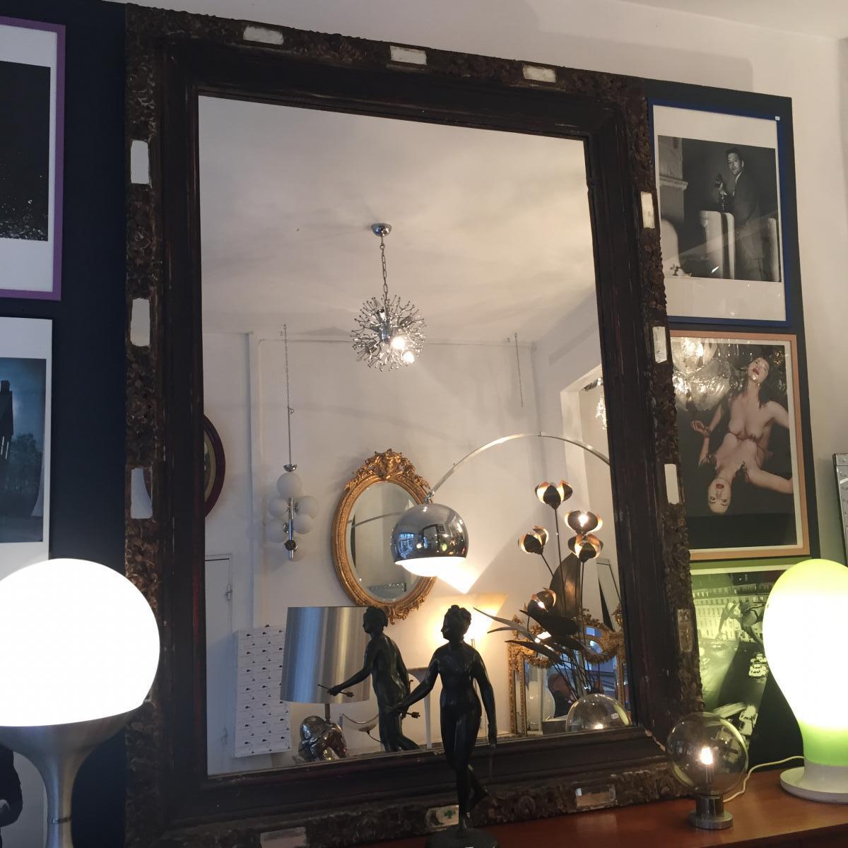 H 220 Cm Enorme Miroir