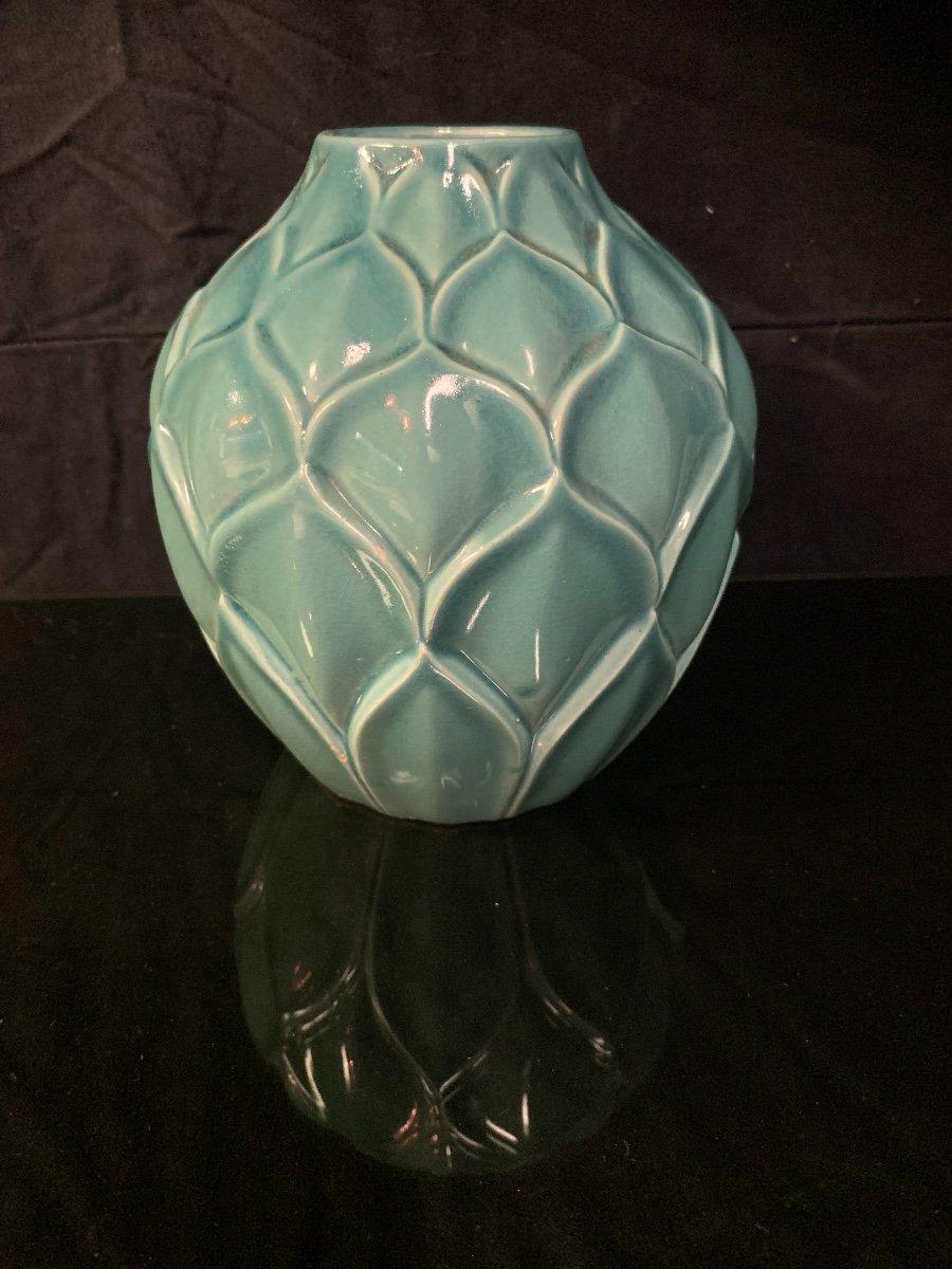 Saint Clément , Vase Model Artichaut . -photo-3