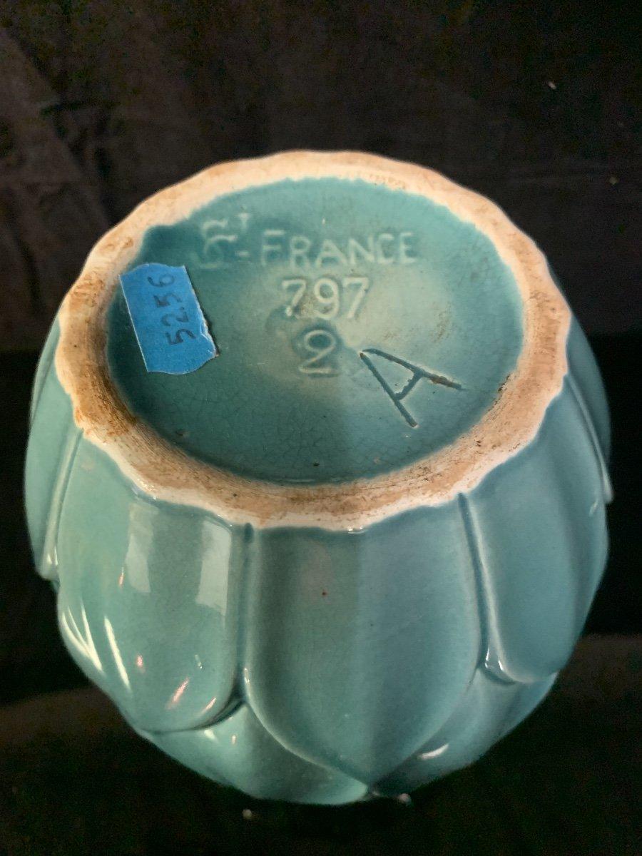 Saint Clément , Vase Model Artichaut . -photo-2