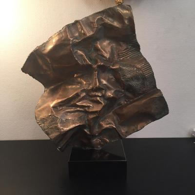 Sculpture Louis Molinari Le Visage