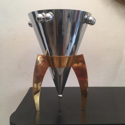 """Seau à Champagne """" Scône """" Alexis Paoutoff Pour Anastasia Design"""