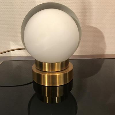 Luminaire , Jean Perzel modèle 1143 L lampe à cache pivotant