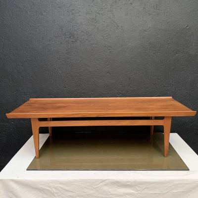 Scandinavian Teak Coffee Table By Finn Juhl Design 1960