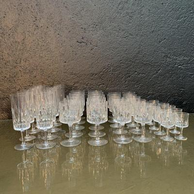 Bayel Crystal, Service Of 40 Glasses.