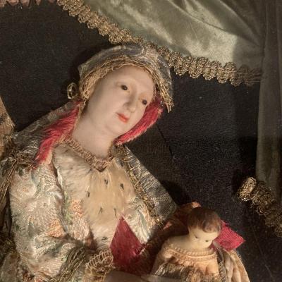 Nancy, Atelier Des Frères Guillot, Wax Dressed XVIIIth Century.