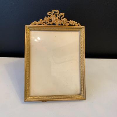 Photo Frame In Gilt Bronze Epoque XIX Eme Century
