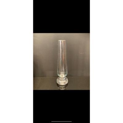Baccarat , Vase Soliflore Design 1960 .