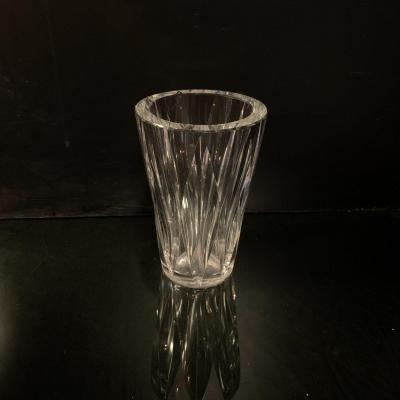 Cristal Saint Louis , Vase Des Années 50 .