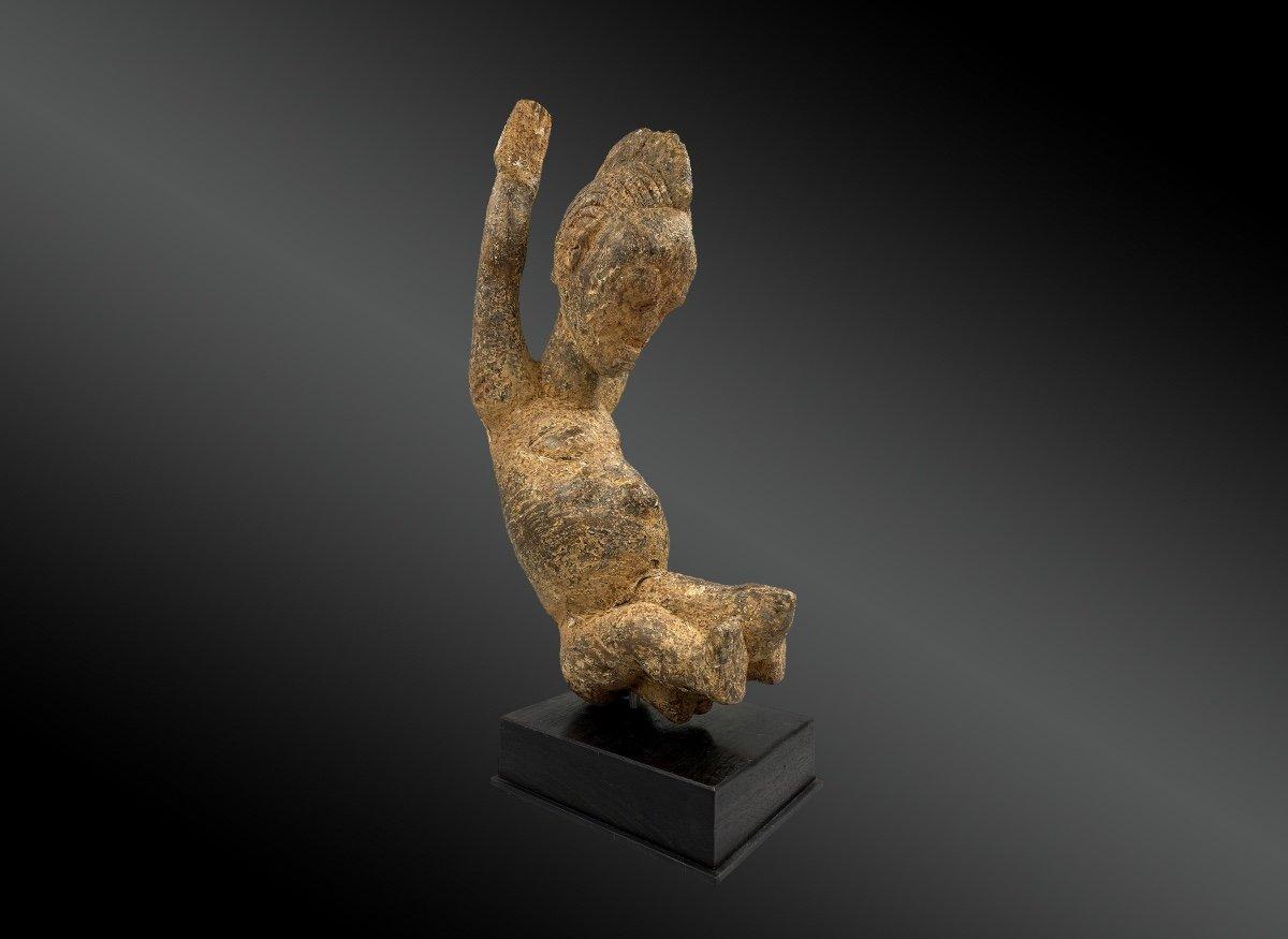 Statuette Anthropomorphe Culture Baoulé, Côte d'Ivoire Première Moitié Du XXème Siècle