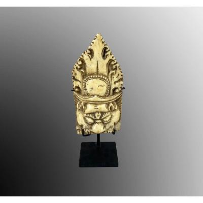 Lama Tibet Or Nepal Adornment Element