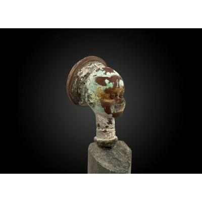Bella Type Doll Head Mold, Former Collection Of Mr. And Mrs. Andrault.