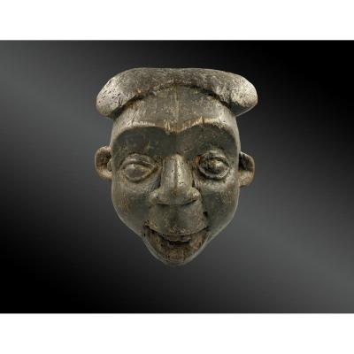 Masque Anthropomorphe Culture Bamileke Bekom, Région De Grassland, Cameroun