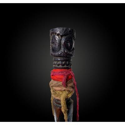 DAGUE rituelle appelée Phurbu Tibet Fin du XIXème – début du XXème siècle
