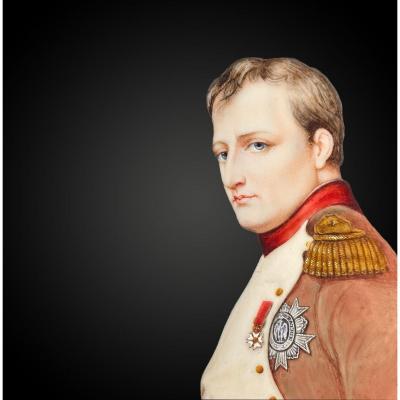 Dumont François (1751-1831) Napoleon Bonaparte Miniature On Ivory
