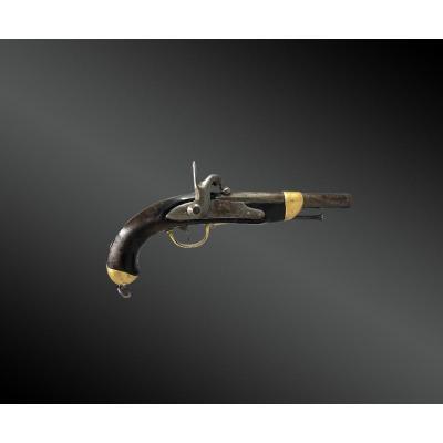 Pistolet De Cavalerie, Modèle 1822 T. France, Vers 1841.