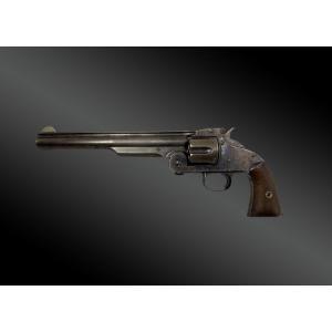 Revolver Smith Et Wesson, N°3 First Model. Un Des 1000ex Du Contrat de l'armée américaine.