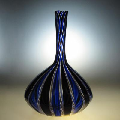Vase En Cristal De Murano AnnÉes 30