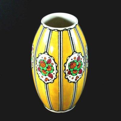 Vase Art Déco Charles Catteau Boch Frères