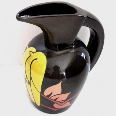 Grand pichet Art Déco Simone Larrieu années 30