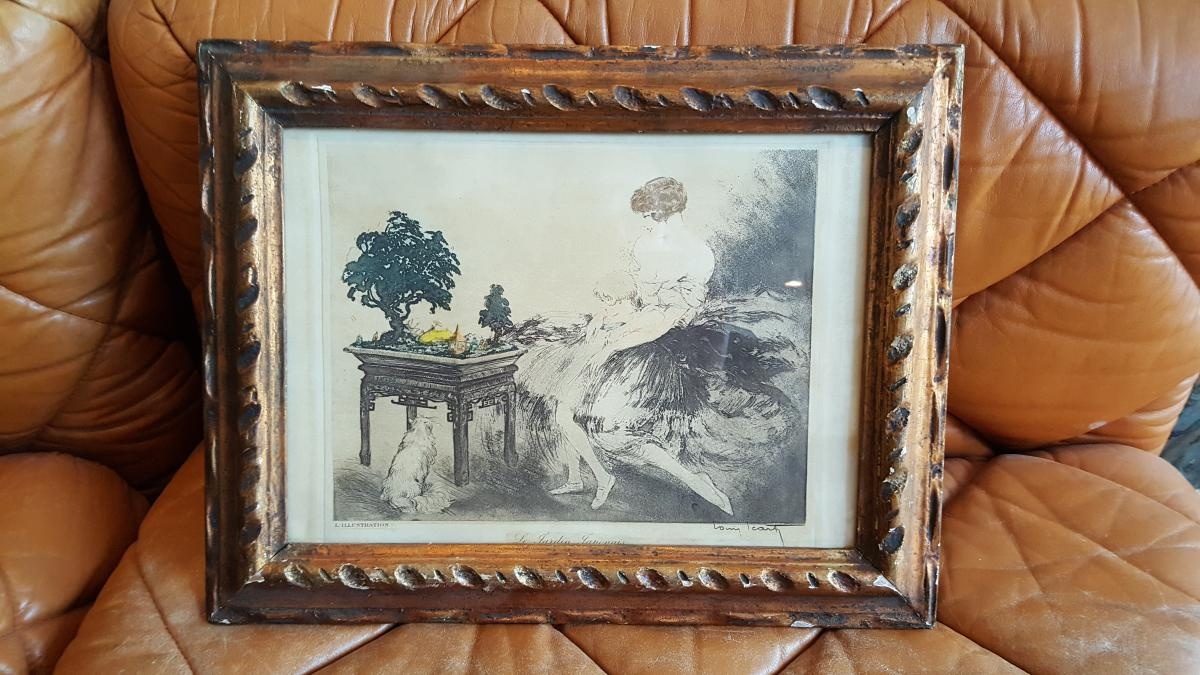 A Litography Signed Louis Icart