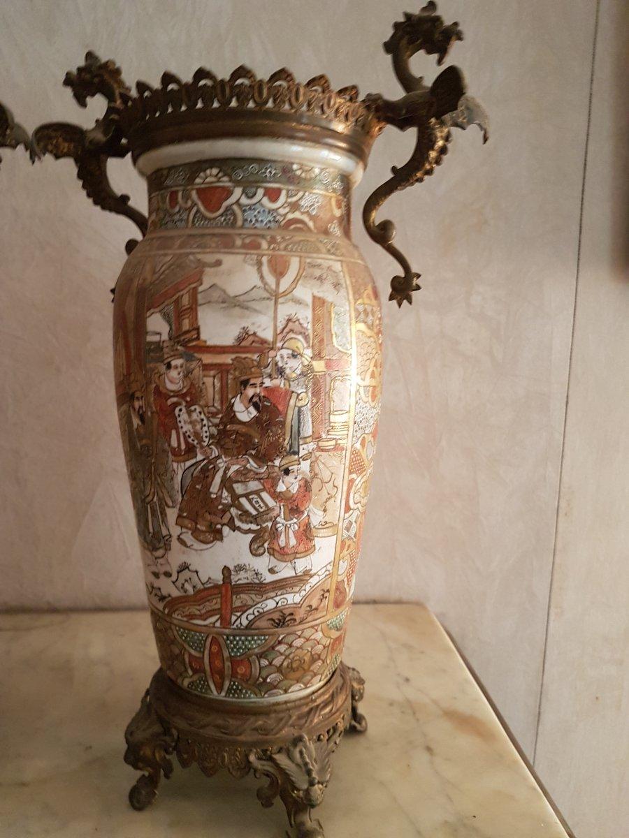 Vases En Tsasuma Paire