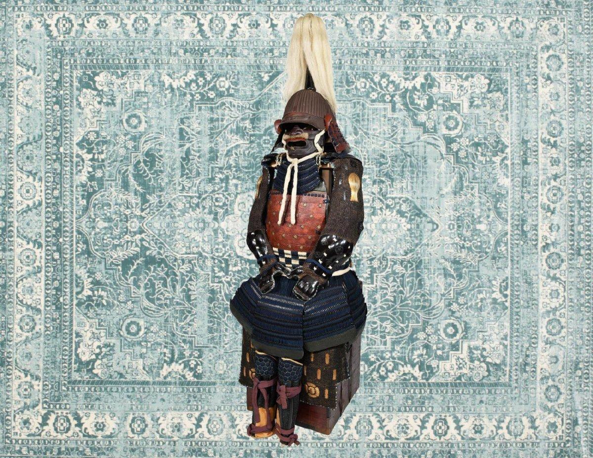 Armure De Samouraï Du Début Du XVIIe Siècle-photo-1