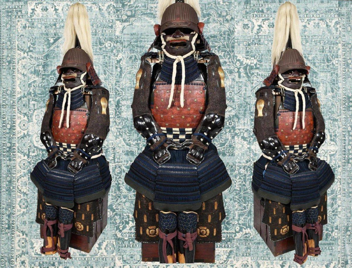 Armure De Samouraï Du Début Du XVIIe Siècle-photo-3