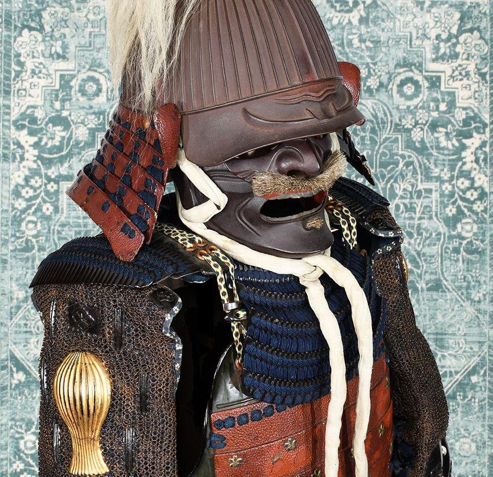 Armure De Samouraï Du Début Du XVIIe Siècle-photo-4
