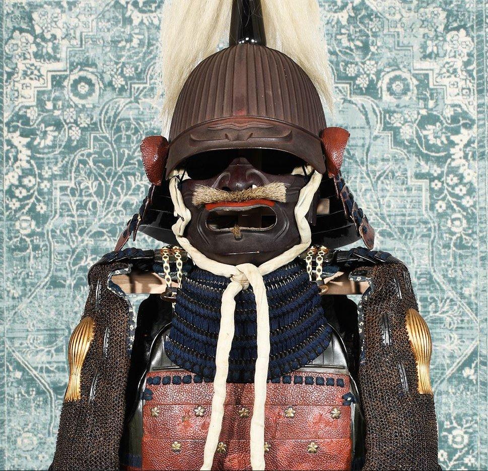 Armure De Samouraï Du Début Du XVIIe Siècle-photo-5