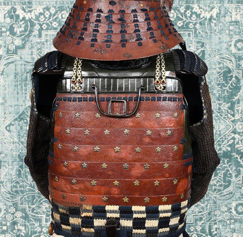 Armure De Samouraï Du Début Du XVIIe Siècle-photo-6