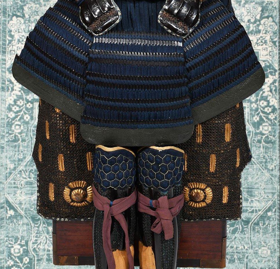 Armure De Samouraï Du Début Du XVIIe Siècle-photo-7