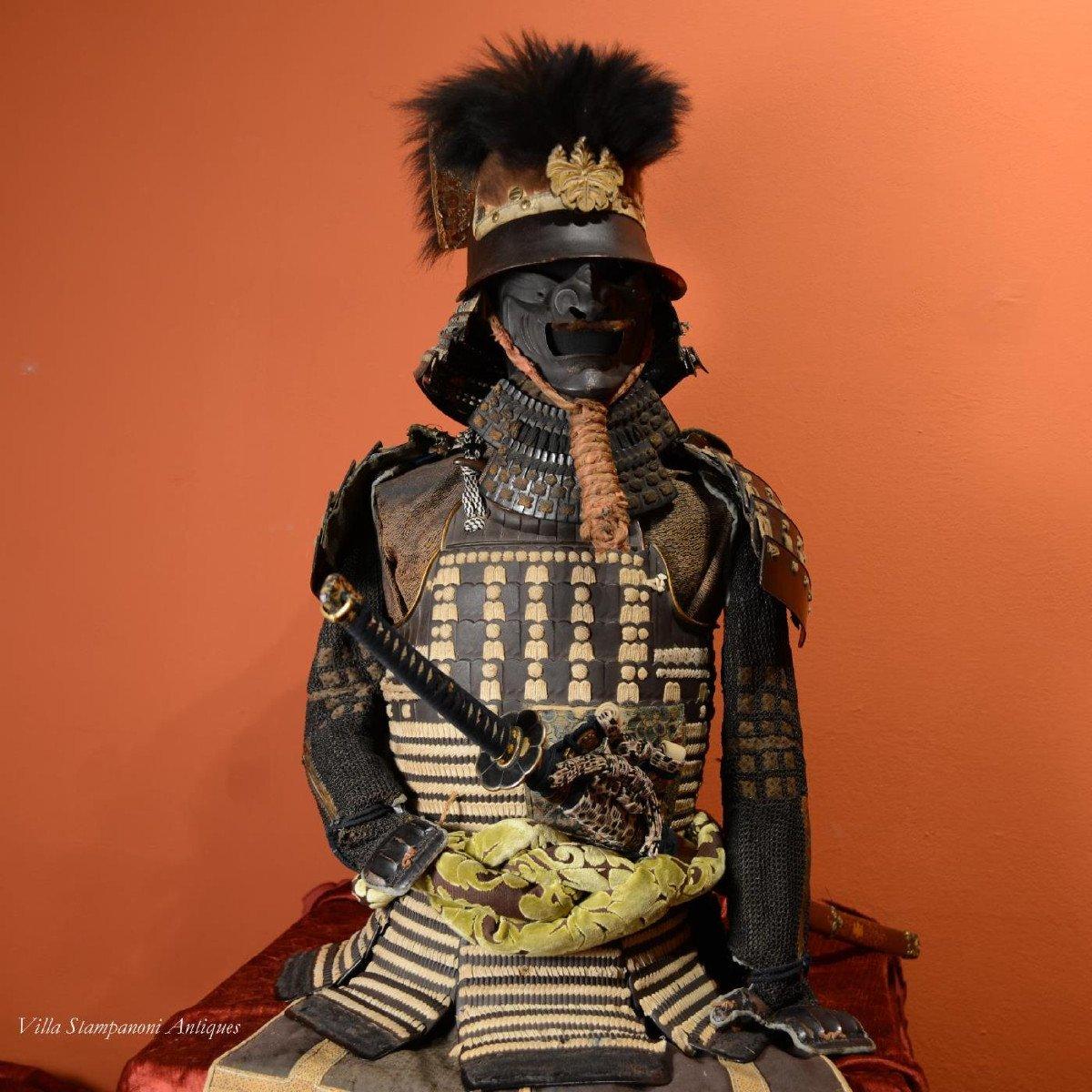 Ancienne Armure De Samouraï époque Edo
