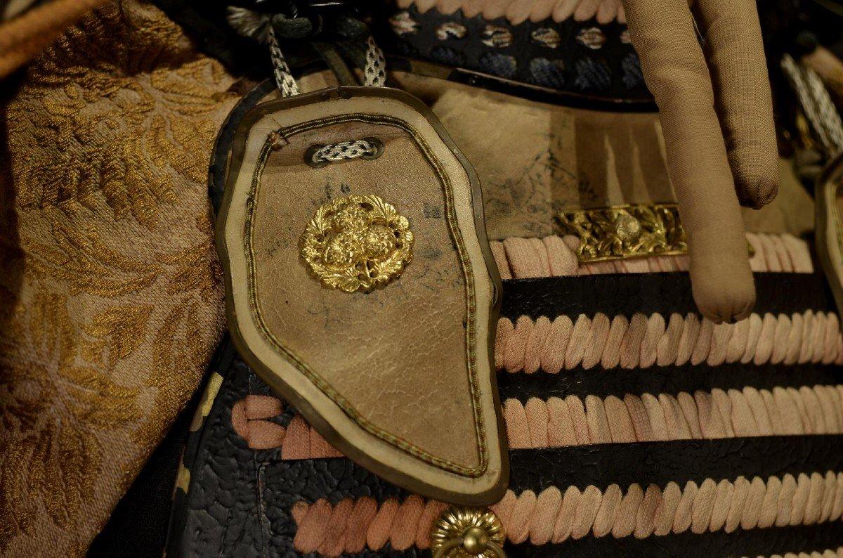 Armure Complète De Guerrier Samouraï-photo-7