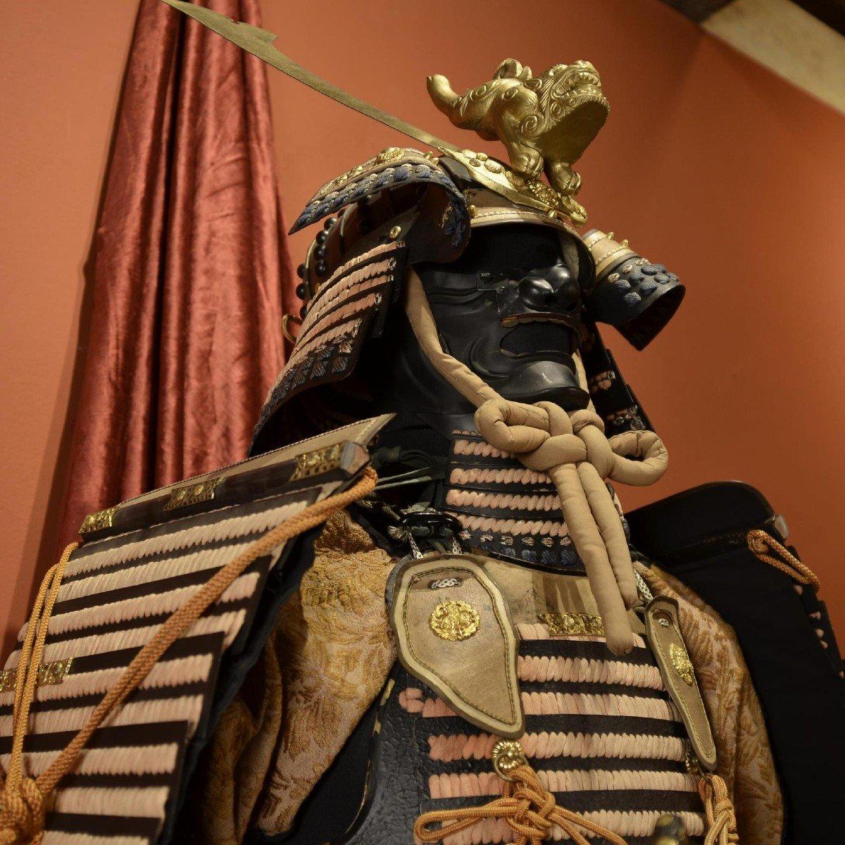 Armure Complète De Guerrier Samouraï