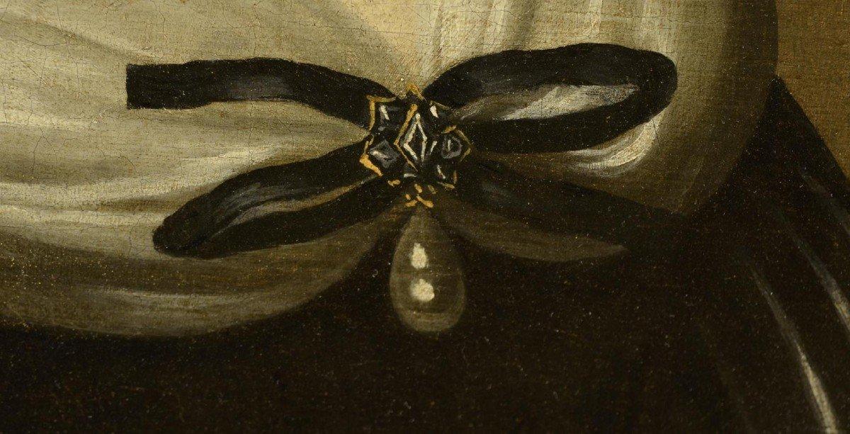 Portrait d'Une Femme,  Jacobs Van Den Tempel  ( 1622 -1672)-photo-7