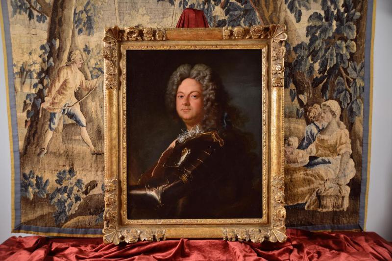 Portrait d'Un Noble En Armure, Atelier De Jean-baptiste Oudry 1686-1755 -photo-2
