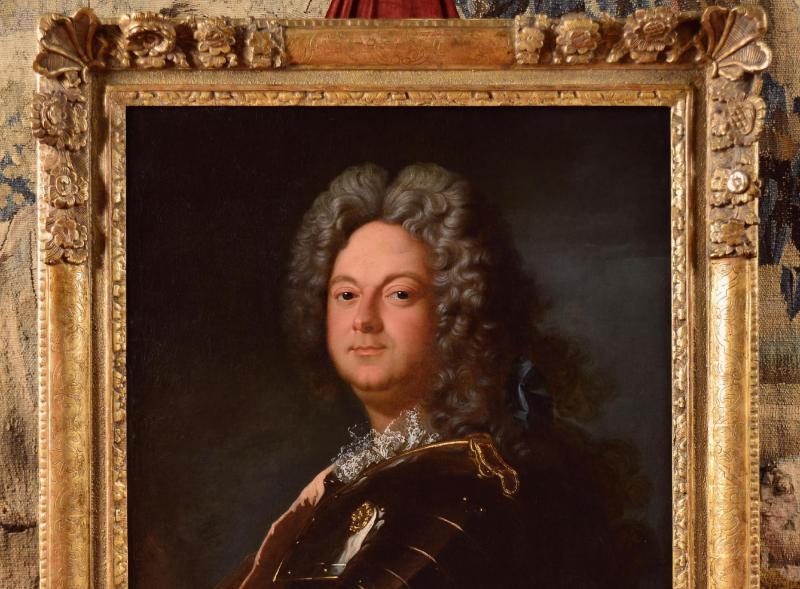 Portrait d'Un Noble En Armure, Atelier De Jean-baptiste Oudry 1686-1755 -photo-3