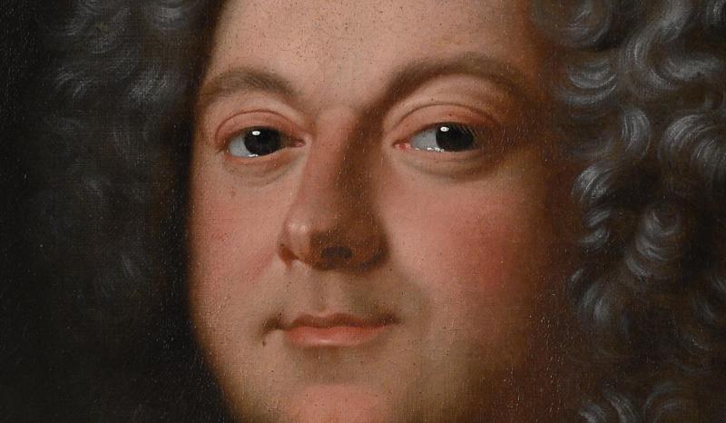 Portrait d'Un Noble En Armure, Atelier De Jean-baptiste Oudry 1686-1755 -photo-4