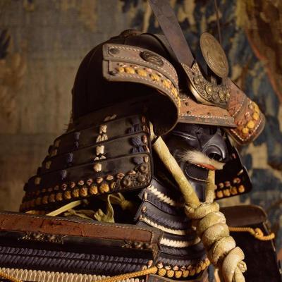 Armure De Samouraï  Maruni Chigai Takanoha