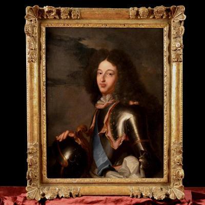 Hyacinthe Rigaud, Portrait Du Dauphin De France Du XVIIIe Siècle