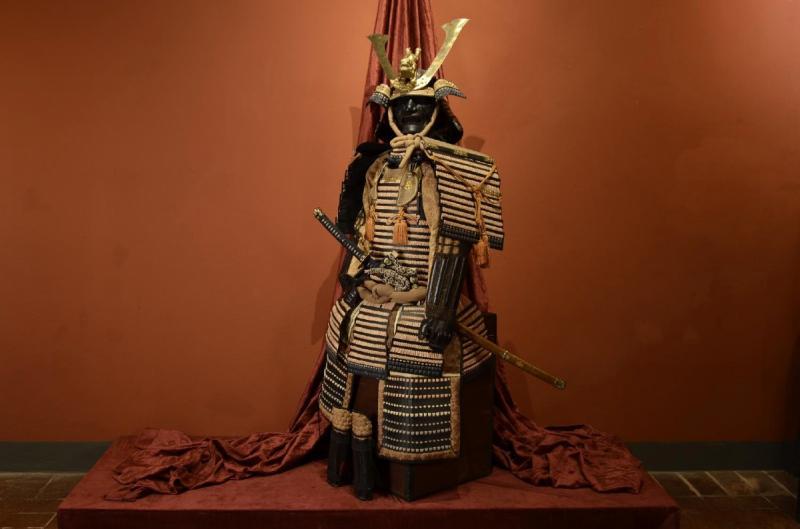 Armure Complète De Guerrier Samouraï-photo-2